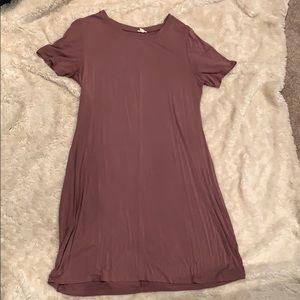 Short sleeve t shirt dress from garage